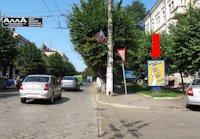 Ситилайт №160253 в городе Черновцы (Черновицкая область), размещение наружной рекламы, IDMedia-аренда по самым низким ценам!