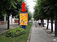 Ситилайт №160254 в городе Черновцы (Черновицкая область), размещение наружной рекламы, IDMedia-аренда по самым низким ценам!