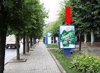 Ситилайт №160255 в городе Черновцы (Черновицкая область), размещение наружной рекламы, IDMedia-аренда по самым низким ценам!