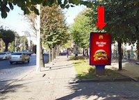 Ситилайт №160257 в городе Черновцы (Черновицкая область), размещение наружной рекламы, IDMedia-аренда по самым низким ценам!