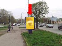 Ситилайт №160258 в городе Черновцы (Черновицкая область), размещение наружной рекламы, IDMedia-аренда по самым низким ценам!