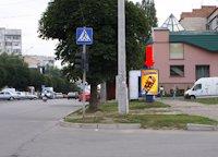 Ситилайт №160259 в городе Черновцы (Черновицкая область), размещение наружной рекламы, IDMedia-аренда по самым низким ценам!