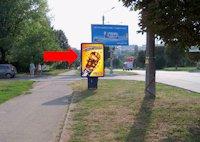 Ситилайт №160260 в городе Черновцы (Черновицкая область), размещение наружной рекламы, IDMedia-аренда по самым низким ценам!