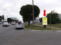 Ситилайт №160261 в городе Черновцы (Черновицкая область), размещение наружной рекламы, IDMedia-аренда по самым низким ценам!