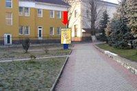 Ситилайт №160366 в городе Чоп (Закарпатская область), размещение наружной рекламы, IDMedia-аренда по самым низким ценам!
