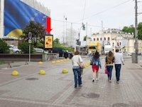 Ситилайт №162274 в городе Киев (Киевская область), размещение наружной рекламы, IDMedia-аренда по самым низким ценам!
