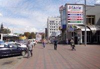 Ситилайт №169316 в городе Винница (Винницкая область), размещение наружной рекламы, IDMedia-аренда по самым низким ценам!