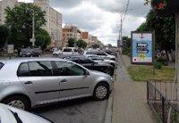Ситилайт №169323 в городе Винница (Винницкая область), размещение наружной рекламы, IDMedia-аренда по самым низким ценам!