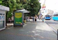 Ситилайт №169333 в городе Винница (Винницкая область), размещение наружной рекламы, IDMedia-аренда по самым низким ценам!