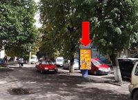 Ситилайт №173154 в городе Житомир (Житомирская область), размещение наружной рекламы, IDMedia-аренда по самым низким ценам!