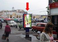 Ситилайт №173158 в городе Житомир (Житомирская область), размещение наружной рекламы, IDMedia-аренда по самым низким ценам!
