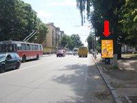 Ситилайт №173165 в городе Житомир (Житомирская область), размещение наружной рекламы, IDMedia-аренда по самым низким ценам!