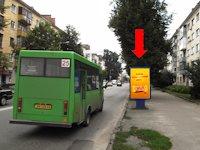 Ситилайт №173167 в городе Житомир (Житомирская область), размещение наружной рекламы, IDMedia-аренда по самым низким ценам!