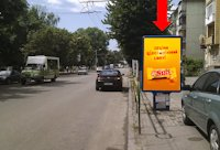 Ситилайт №173171 в городе Житомир (Житомирская область), размещение наружной рекламы, IDMedia-аренда по самым низким ценам!