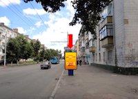 Ситилайт №173177 в городе Житомир (Житомирская область), размещение наружной рекламы, IDMedia-аренда по самым низким ценам!