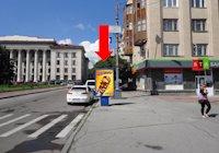 Ситилайт №173183 в городе Житомир (Житомирская область), размещение наружной рекламы, IDMedia-аренда по самым низким ценам!