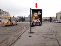 Ситилайт №173185 в городе Житомир (Житомирская область), размещение наружной рекламы, IDMedia-аренда по самым низким ценам!