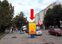 Ситилайт №173186 в городе Житомир (Житомирская область), размещение наружной рекламы, IDMedia-аренда по самым низким ценам!