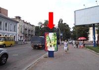 Ситилайт №173187 в городе Житомир (Житомирская область), размещение наружной рекламы, IDMedia-аренда по самым низким ценам!