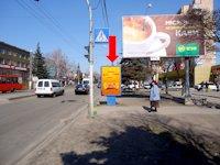 Ситилайт №173189 в городе Житомир (Житомирская область), размещение наружной рекламы, IDMedia-аренда по самым низким ценам!