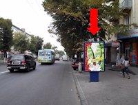 Ситилайт №173199 в городе Житомир (Житомирская область), размещение наружной рекламы, IDMedia-аренда по самым низким ценам!