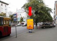 Ситилайт №173203 в городе Житомир (Житомирская область), размещение наружной рекламы, IDMedia-аренда по самым низким ценам!