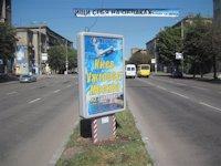 Ситилайт №173415 в городе Запорожье (Запорожская область), размещение наружной рекламы, IDMedia-аренда по самым низким ценам!