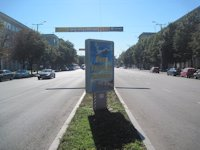 Ситилайт №173417 в городе Запорожье (Запорожская область), размещение наружной рекламы, IDMedia-аренда по самым низким ценам!