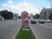 Ситилайт №173418 в городе Запорожье (Запорожская область), размещение наружной рекламы, IDMedia-аренда по самым низким ценам!