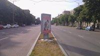 Ситилайт №173419 в городе Запорожье (Запорожская область), размещение наружной рекламы, IDMedia-аренда по самым низким ценам!