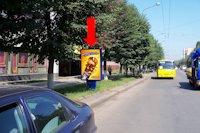 Ситилайт №175120 в городе Ивано-Франковск (Ивано-Франковская область), размещение наружной рекламы, IDMedia-аренда по самым низким ценам!