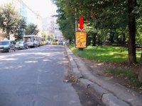 Ситилайт №175125 в городе Ивано-Франковск (Ивано-Франковская область), размещение наружной рекламы, IDMedia-аренда по самым низким ценам!