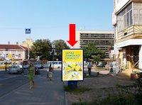 Ситилайт №175131 в городе Ивано-Франковск (Ивано-Франковская область), размещение наружной рекламы, IDMedia-аренда по самым низким ценам!
