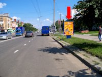 Ситилайт №175133 в городе Ивано-Франковск (Ивано-Франковская область), размещение наружной рекламы, IDMedia-аренда по самым низким ценам!