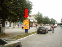 Ситилайт №175291 в городе Каменец-Подольский (Хмельницкая область), размещение наружной рекламы, IDMedia-аренда по самым низким ценам!