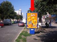 Ситилайт №175294 в городе Каменец-Подольский (Хмельницкая область), размещение наружной рекламы, IDMedia-аренда по самым низким ценам!