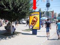 Ситилайт №175297 в городе Каменец-Подольский (Хмельницкая область), размещение наружной рекламы, IDMedia-аренда по самым низким ценам!