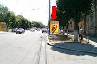 Ситилайт №175711 в городе Кропивницкий(Кировоград) (Кировоградская область), размещение наружной рекламы, IDMedia-аренда по самым низким ценам!