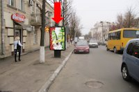 Ситилайт №175712 в городе Кропивницкий(Кировоград) (Кировоградская область), размещение наружной рекламы, IDMedia-аренда по самым низким ценам!