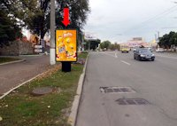 Ситилайт №175724 в городе Кропивницкий(Кировоград) (Кировоградская область), размещение наружной рекламы, IDMedia-аренда по самым низким ценам!