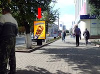 Ситилайт №175736 в городе Кропивницкий(Кировоград) (Кировоградская область), размещение наружной рекламы, IDMedia-аренда по самым низким ценам!