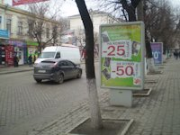 Ситилайт №175788 в городе Кропивницкий(Кировоград) (Кировоградская область), размещение наружной рекламы, IDMedia-аренда по самым низким ценам!