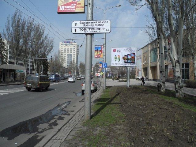 Бэклайт №176 в городе Донецк (Донецкая область), размещение наружной рекламы, IDMedia-аренда по самым низким ценам!