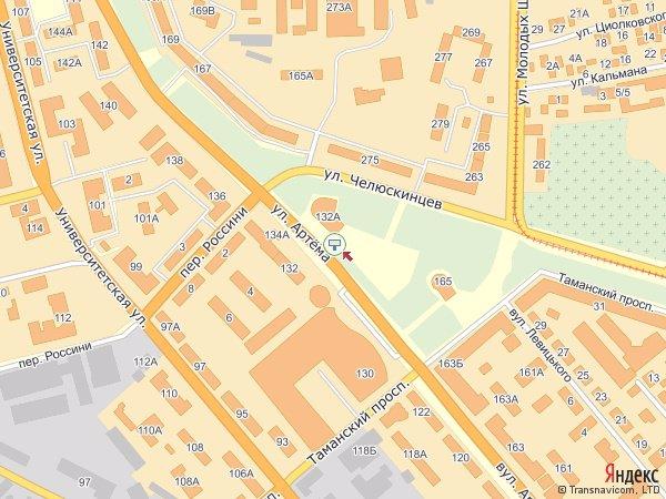 IDMedia Арендовать и разместить Бэклайт в городе Донецк (Донецкая область) №176 схема