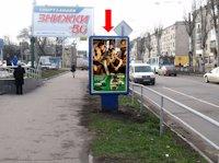Ситилайт №176183 в городе Кременчуг (Полтавская область), размещение наружной рекламы, IDMedia-аренда по самым низким ценам!