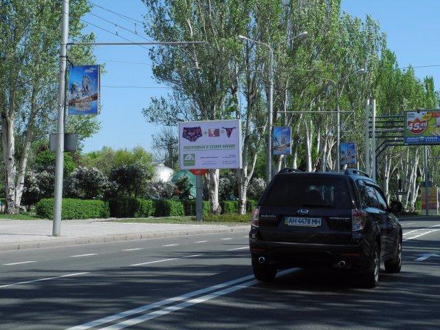 Бэклайт №177 в городе Донецк (Донецкая область), размещение наружной рекламы, IDMedia-аренда по самым низким ценам!