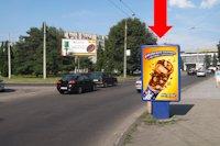 Ситилайт №177059 в городе Луцк (Волынская область), размещение наружной рекламы, IDMedia-аренда по самым низким ценам!