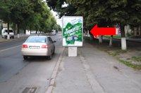 Ситилайт №177080 в городе Луцк (Волынская область), размещение наружной рекламы, IDMedia-аренда по самым низким ценам!
