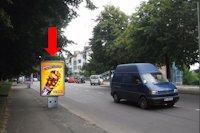 Ситилайт №177081 в городе Луцк (Волынская область), размещение наружной рекламы, IDMedia-аренда по самым низким ценам!