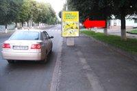 Ситилайт №177082 в городе Луцк (Волынская область), размещение наружной рекламы, IDMedia-аренда по самым низким ценам!